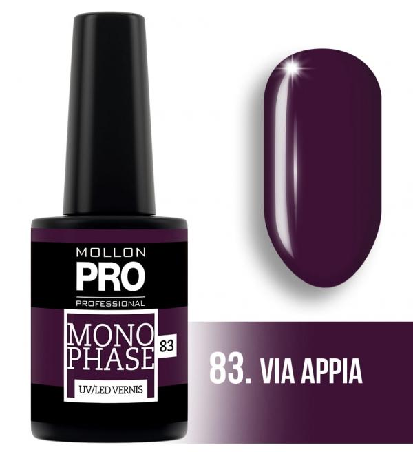 Monophase UV/LED Vernis 83 Via Appia 10ml
