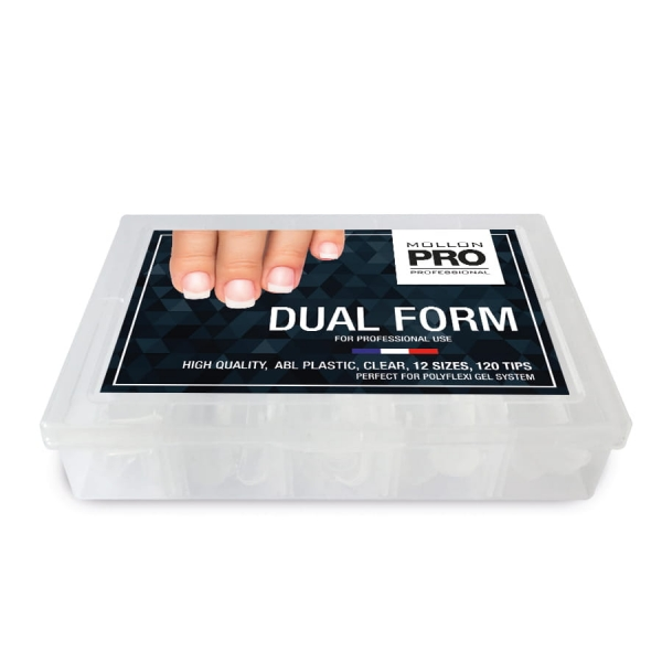 Clear Dual Form 120pcs