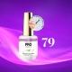 Luxury Gel Polish Color Coat 80 Grape Parfait 8ml