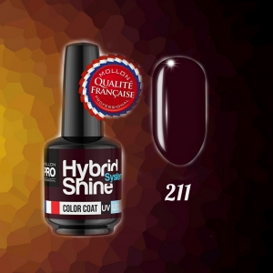 Hybrid Shine System Color Coat 211 Velvety Burgundy 8ml