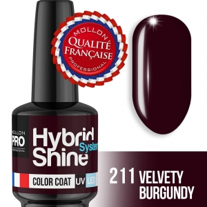 Hybrid Shine System Color Coat 211 Velvety Burgundy 8ml