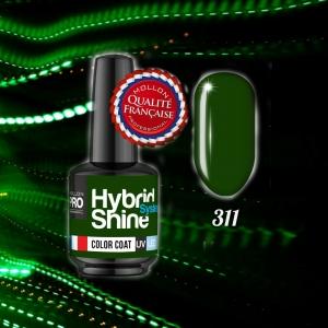 Hybrid Shine System Color Coat UV/LED 311 Lady Green 8ml