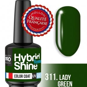 Hybrid Shine System Color Coat UV/LED 311 Lay Green 8ml