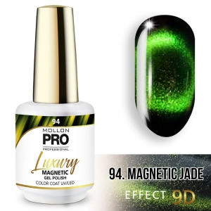 Luxury Gel Polish Color 94 Magnetic Jade – Effect 9D 8ml