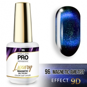 Luxury Gel Polish Color 96 Magnetic Ametist – Effect 9D 8ml
