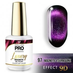 Luxury Gel Polish Color 97 Magnetic Tourmaline – Effect 9D 8ml