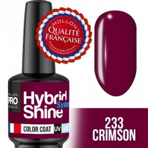 Hybrid Shine System Color Coat 233 Crimson 8ml