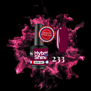 Hybrid Shine System Color Coat 233 Crimson 8ml
