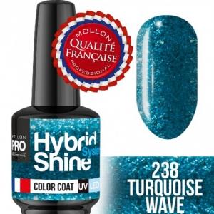 Hybrid Shine System Color Coat 238 Turquise Wave 8ml