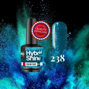 Hybrid Shine System Color Coat 238 Turquise Wave 8ml