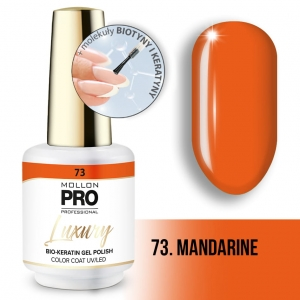 Luxury Gel Polish Color Coat 73 Mandarine 8ml