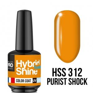 Hybrid Shine System Color Coat 312 Purist Shock 8ml