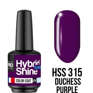Hybrid Shine System Color Coat 315 Duchess Purple 8ml
