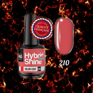 Hybrid Shine System Color Coat 210 Apricot Brandy 8ml