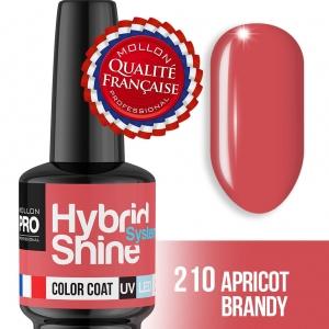 Hybrid Shine System Color Coat 210 Apricot Brandy 8ml