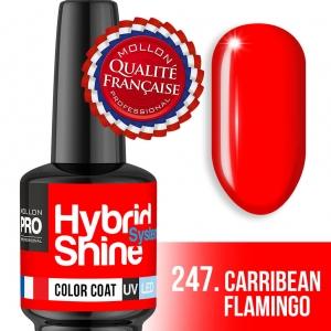 Hybrid Shine System Color Coat 247 Carribean Flamingo 8ml