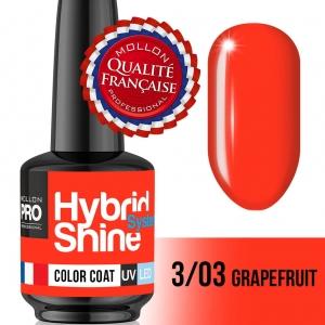 Hybrid Shine System Color Coat 3/03 Grapefruit 8ml