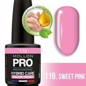 Hybrid Care Color Coat UV/LED 119 Sweet Pink 12ml