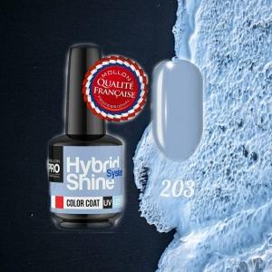 Hybrid Shine System Color Coat 203 Blue Haze 8ml