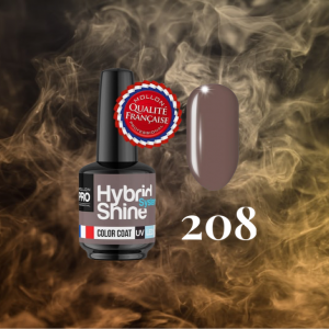 Hybrid Shine System Color Coat 208 Coffee Praline 8ml