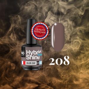 Hybrid Shine System Color Coat 208 Coffee Praline 8ml