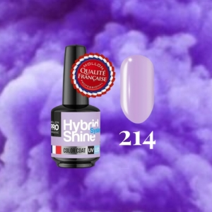 Hybrid Shine System Color Coat 214 Heather 8ml