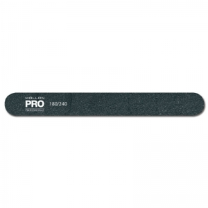Straight nail file, 180/240 grit