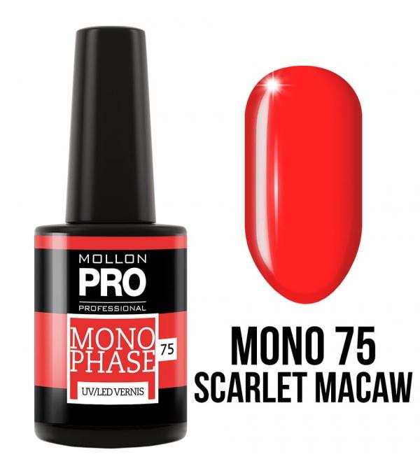 Monophase UV/LED Vernis 75 Scarlet Macaw 10ml