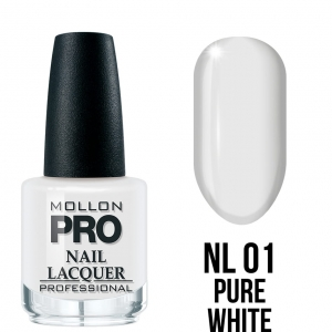 Hardening Nail Lacquer 01 Pure White 15ml