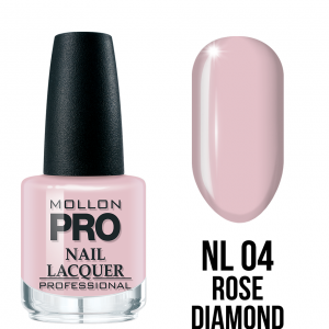 Hardening Nail Lacquer 04 Rose Diamond 15ml