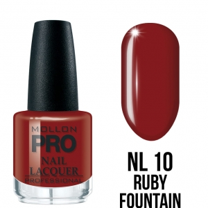 Hardening Nail Lacquer 10 Ruby Fountain 15ml