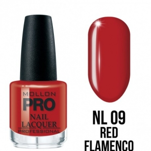 Hardening Nail Lacquer 09 Red Flamenco 15ml