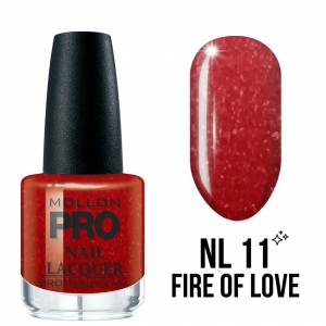 Hardening Nail Lacquer 11 Fire of Love 15ml