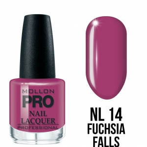Hardening Nail Lacquer 14 Fuchsia Falls 15ml
