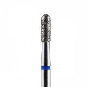 Diamond blue cylinder bit with round head 2.3mm