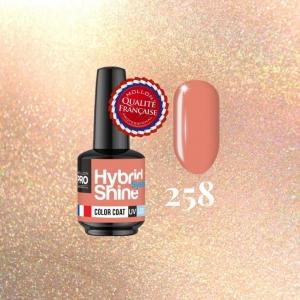 Hybrid Shine System Color Coat 258 Sex on the Beach 8ml