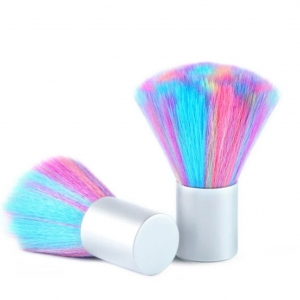 Small Colorful Nail Dust Clean Manicure Brush