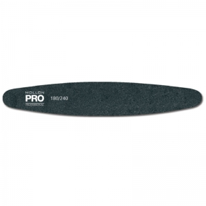 Ellipse shaped Nail file 180/240 grit