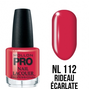 Hardening Nail Lacquer 112 Rideau Ecarlate 15ml