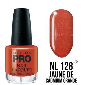Hardening Nail Lacquer 128 Jaune de cadmium orange 15ml
