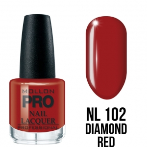 Hardening Nail Lacquer 102 Diamond Red 15ml