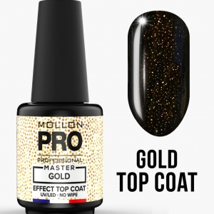 Master Gold Effect Top No Wipe 10ml