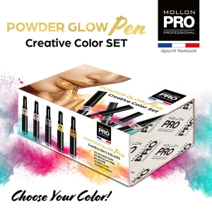 Powder Glow Pen Creative Set 5 Colors