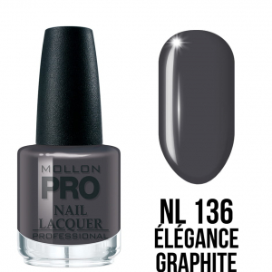 Hardening Nail Lacquer 135 Elegance Graphite 15ml